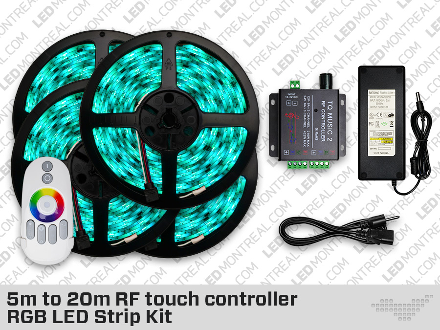 5 To 20 Meter Rf Touch Controller Led Montreal Canada