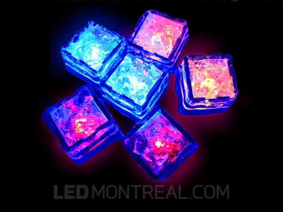 rgb led ice cube led montreal canada. Black Bedroom Furniture Sets. Home Design Ideas