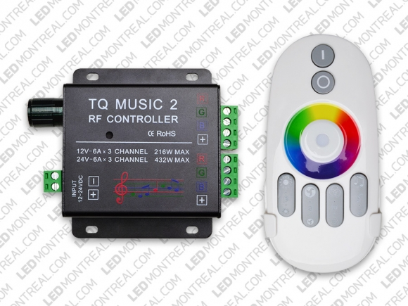 RF Advanced Touch Controller With Sound LED Montreal