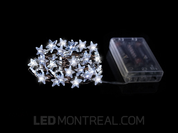 Battery Powered Star LED Strings