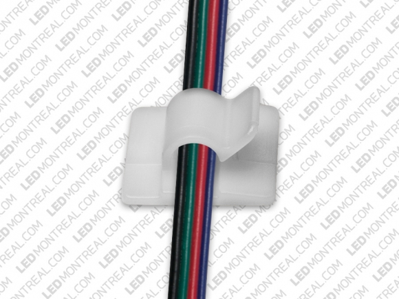 Auto Adhesive Cable Clip - LED Montreal