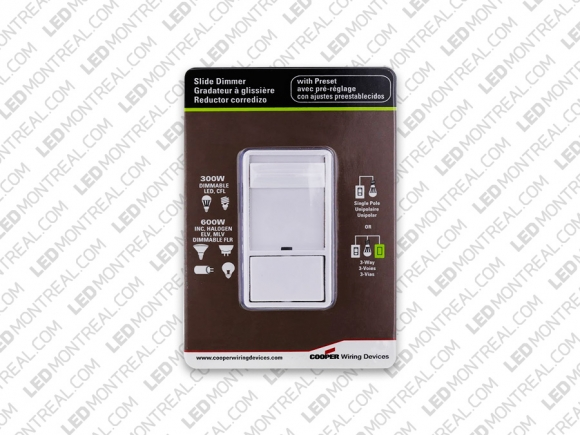 120V AC Universal Wall Dimmer for LED Lights and LED Drivers