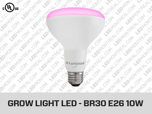 ampoule led pour plantes br30 10w led montreal. Black Bedroom Furniture Sets. Home Design Ideas