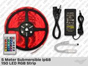 5 Meter Submersible ip68 150 LED RGB Strip
