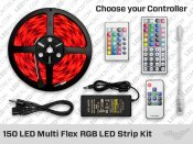 150 LED Multi Flex RGB LED Strip Kit