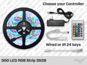 RGB 3528 LED Strip Kit (300 LED)
