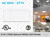 2x4 Feet LED Panels
