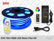 LED Neon Flex RGB 10m - 24V DC
