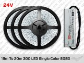 Epistar Single Color 10 Meter 5050 LED Strip kit