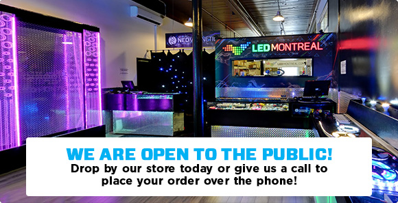 LED Montreal Store