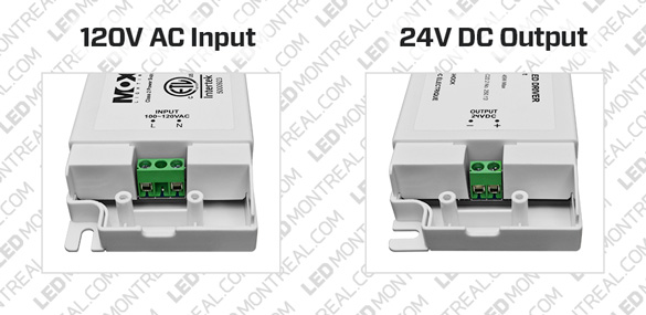 MOX 24V DC Power Supply 24W or 45W