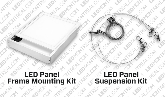 Mounting Kit 72W LED Light Panel 2 x 4 Feet