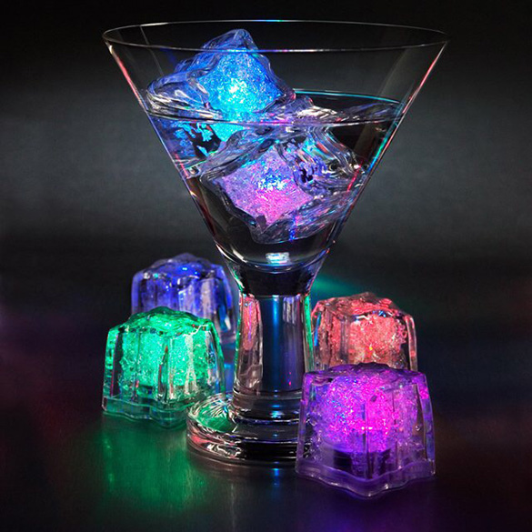 RGB LED Ice Cube