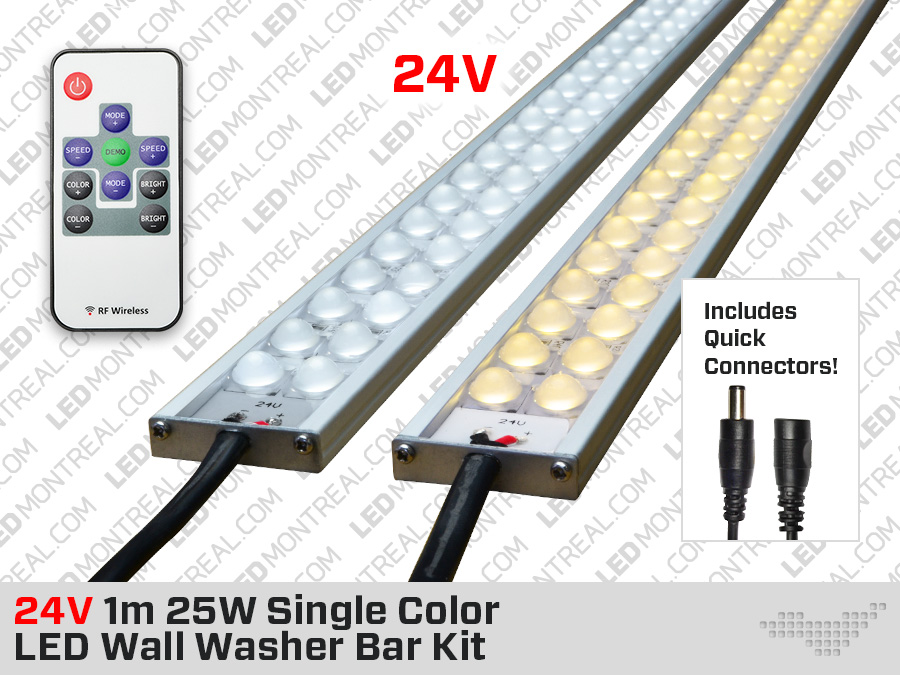 1m Indoor White Led Wall Washer Bar