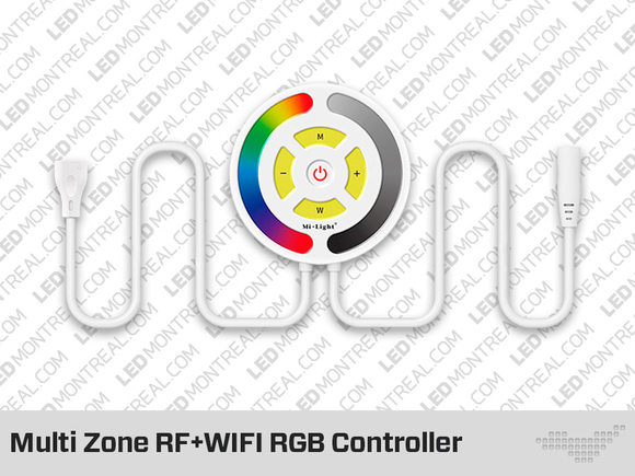 Multi Zone WiFi RF Controller for RGB LED Strip (Mi-Light)