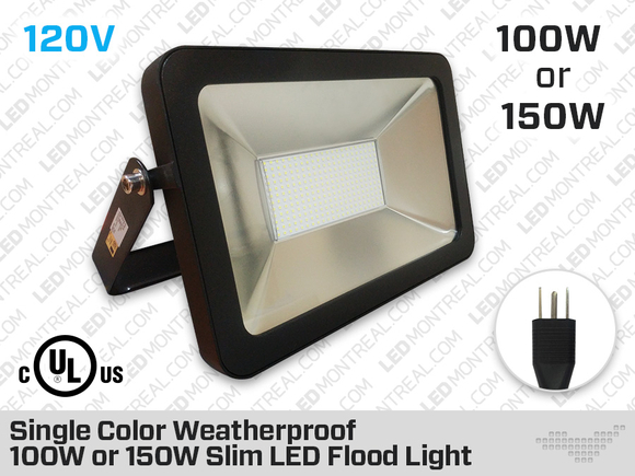 Single Color LED Flood Light 150 Watt