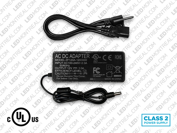 12V 3A Power supply for LED Strips