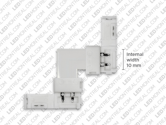 L Shape Corner Connector 5050 for Single Color Strips