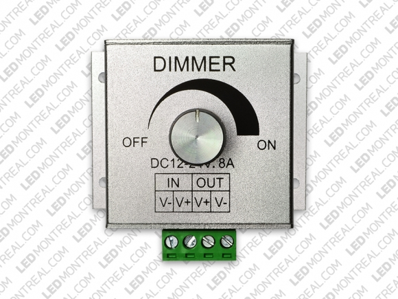 Wall Mounted Dimmer for Single Color LED Strip