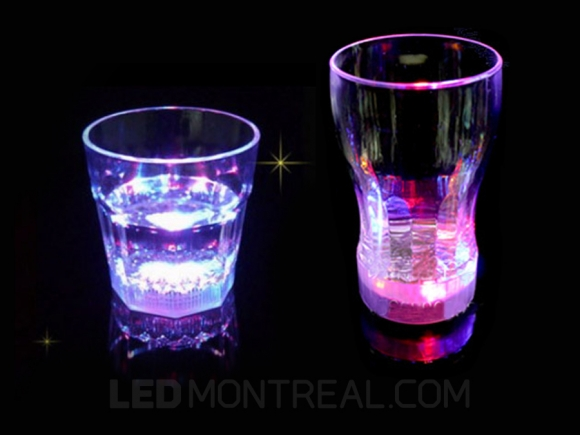 RGB Color Changing LED Glass