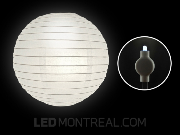 LED Paper Lantern Cool White