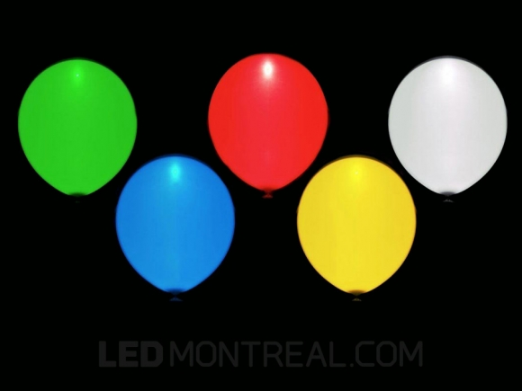LED Light balloons, various colors