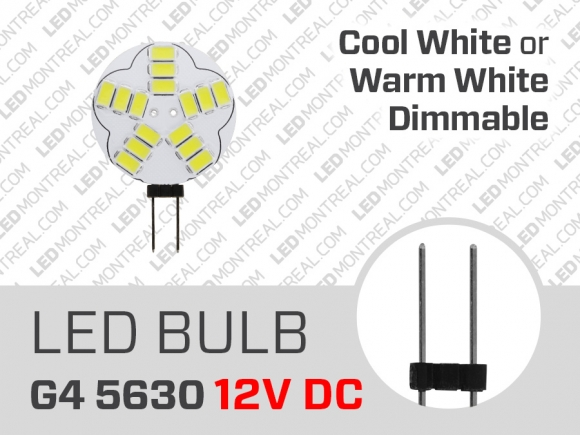 Ampoule LED G4 Plate 5630 Dimmable