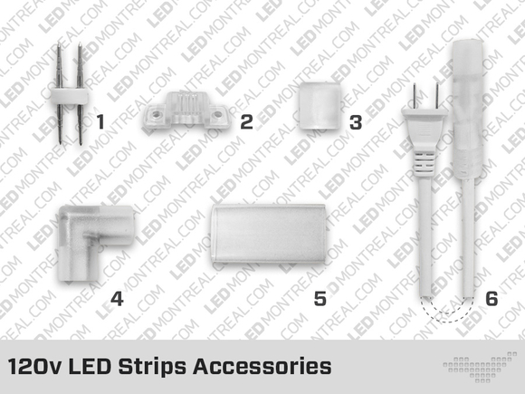 120V LED Strip Accessories