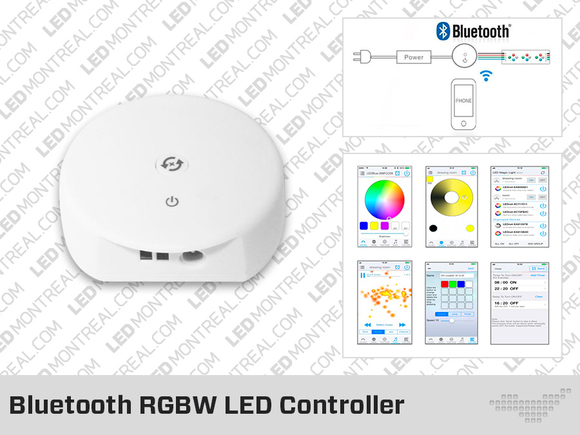 Bluetooth RGBW LED Controller