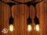 Vintage Outdoor LED Light Bulb string
