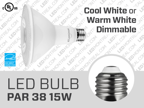 15W PAR38 Dimmable SMD LED Light Bulb