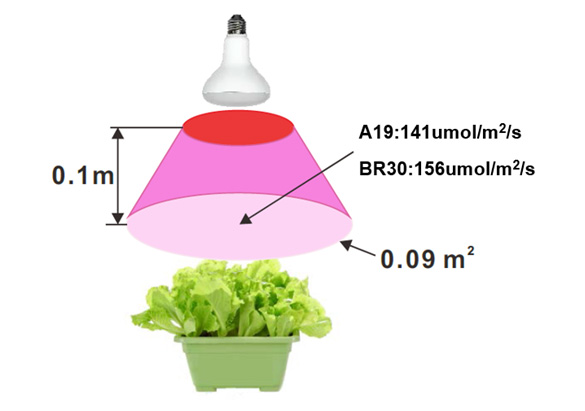 BR30 10W LED Grow Light
