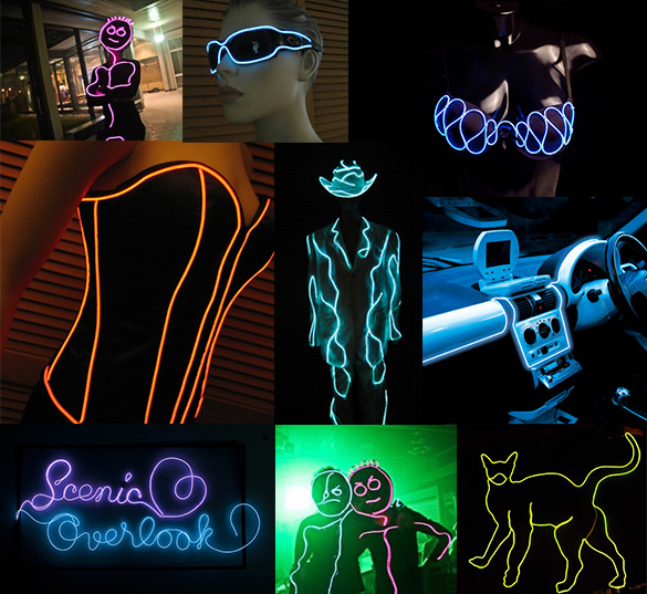 EL wire accessories - LED Montreal
