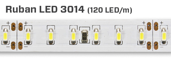 3014, 120 LED au mètre
