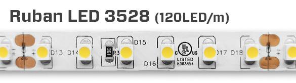 Ruban de 600 Lumières LED 3528 de Couleur Unique (Ruban seul)
