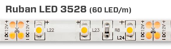3528, 60 LED au mètre