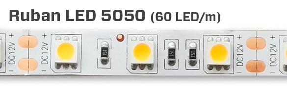 5050, 60 LED au mètre