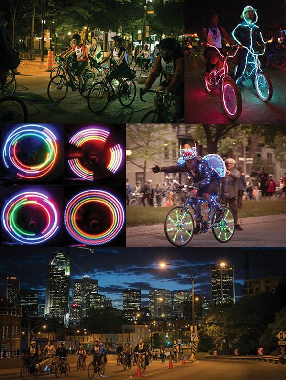 Un Tour la Nuit - LED Montreal