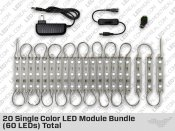 20 LED Warm White Module Bundle (60 LEDs)