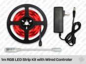 1m RGB LED Strip Kit with Wired Controler