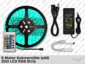 5 Meter Submersible ip68 300 LED RGB Strip