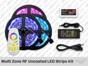 RF Multi Zone IP20 RGB LED Strip Kit
