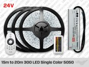 Ruban LED Couleur Unique Epistar 5050 de 10 mètres