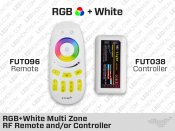 FUT092 RF Multi Zone Remote and-or FUT038 Controller for RGB+W LED Strips
