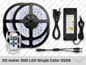 15 to 20 meter 3528 Single Color LED Stip Kit