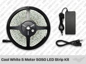 Epistar Cool White 5 Meter 5050 LED Strip kit
