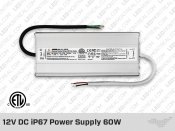 12V DC iP67 Indoor / Outdoor LED Driver 96W (8A)
