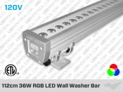 112cm 36W RGB LED Wall Washer Bar