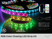 Addressable Pixel LED Strip Kit iP20 12V 5050 RGB at 60 LEDs / m - 5m