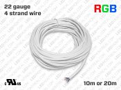 RGB Wires for LED Strips (10 to 20 meter)
